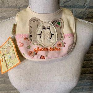 Cute Elephant Bib - NWT